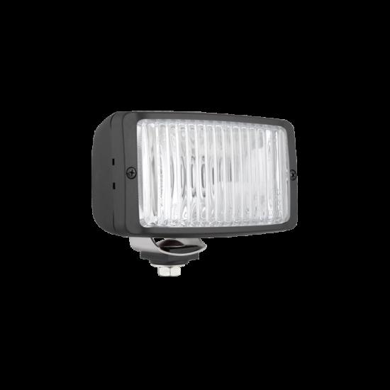 Halogén ködfényszórópár takarófedél nélkül, 12-24V, H3, 138x78x68 mm, Wesem HM2.19873