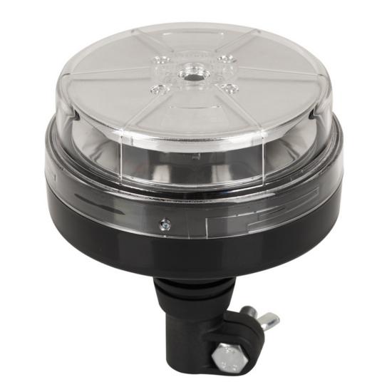 LED Sárga villogó, rúdra szerelhető, 10-30V, 14-28W,  DSL-450FL.05