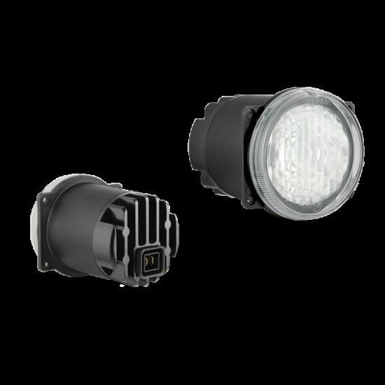LED munkalámpa beépített Deutsch DT04-2P csatlakozóval (4 csavaros ), 12V-24V DC, 3 x LED, 500 lm