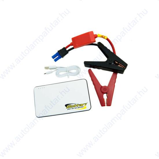 Bottari Extra Power Jump Starter 6600 mAh indításrásegítő benzines autóhoz 2000 cm3-ig