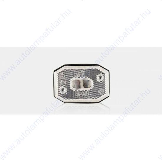 Fehér halogén szélességjelző 12-24V, Fristom FT-001 B
