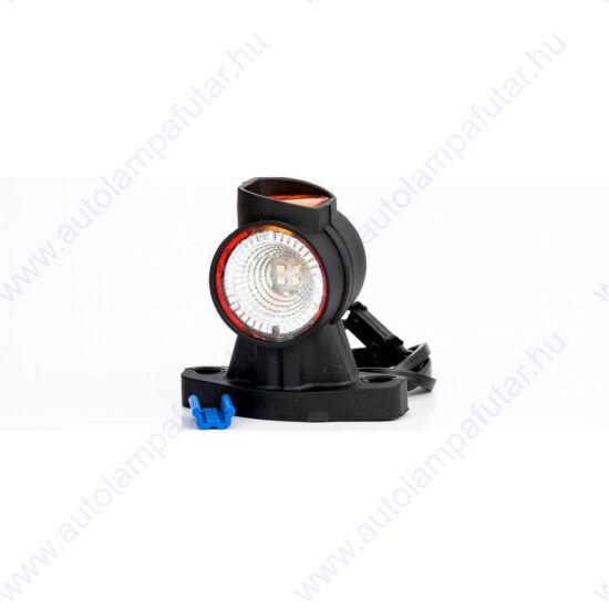 LED szélességjelző jobb oldali, 12-24V,  12 LED, 96mm kinyúlással, Fristom FT-140 AP LED