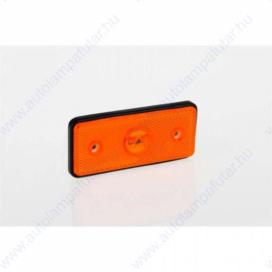 SÁRGA LED szélességjelző 12-36V DC, 110x45mm, FRISTOM MD-013 Z LED