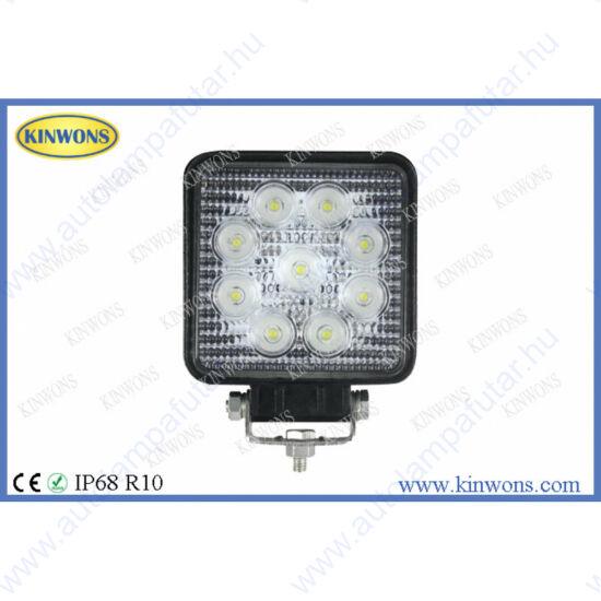 Kinwons KS0027-SPOT led munkalámpák  LED   Munkalámpa   12-24 V  27 W  2160 lm  szúrófény