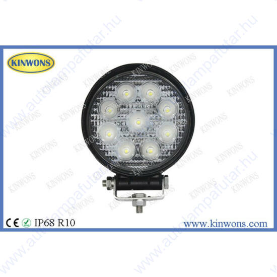 Kinwons KS0027R-SPOT led munkalámpák  LED   Munkalámpa   12-24 V  2160 lm  szúrófény