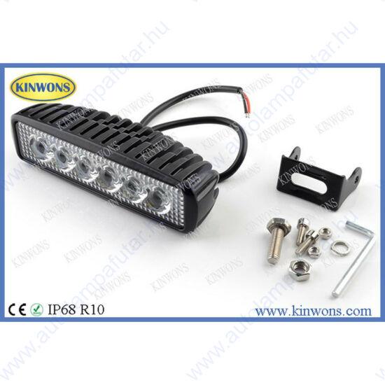 Kinwons KS4418-FLOOD led munkalámpák  LED   Munkalámpa   12-24 V  18 W  1440 lm  terítőfény