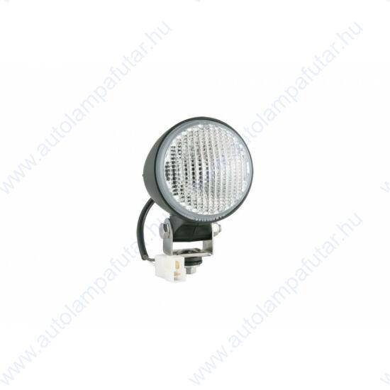 Munkalámpa kerek,terítőfényű,AMP 2pin,H3 halogén izzós kivitel,84x97mm,Wesem LOR6.41501