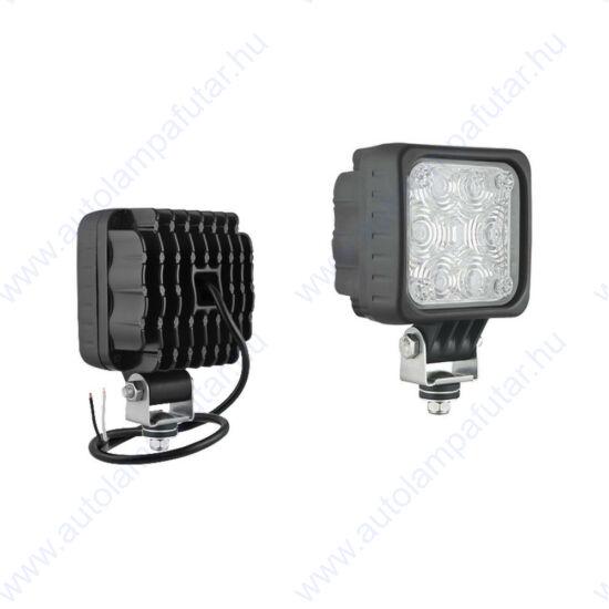 Wesem CUK1.48840 led munkalámpák  LED   Figyelmetető, biztonsági   12-48 V  14 W  standard rozsdamentes acél tartóval   AMP Fast
