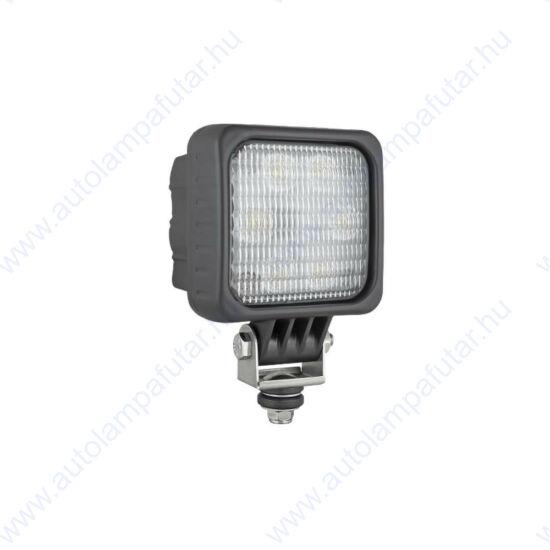 Wesem LED1.46806 halogén munkalámpák  LED   Munkalámpa   12-24 V  24 W  1500 lm  terítőfény   AMP Faston aljzat (2pin)