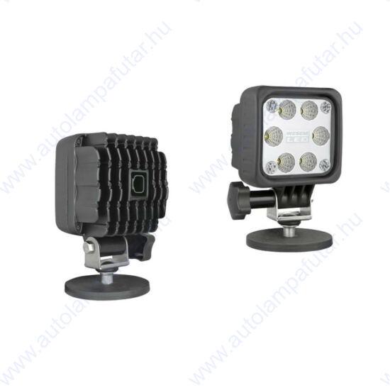 Wesem LED6F.49997 led munkalámpák  LED   Munkalámpa   12-24 V  29 W  2500 lm  terítőfény   Mágneses talp