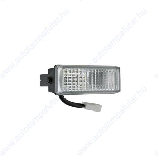 Wesem LPR9.46030 halogén munkalámpák  Halogén   Munkalámpa   12-24 V  55 W  terítőfény   hátsó fémkengyel   AMP Faston aljzat (2
