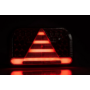 Kép 3/4 - 7 funkciós univerzális bal hátsó led lámpa, 240x140x55mm, 12-36V DC,  FRISTOM FT-170 L TB LED